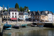 Auray and its old sail boats