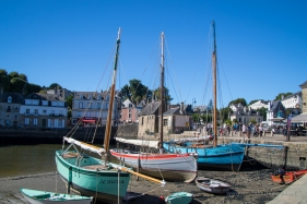 Auray and the old sailing boats