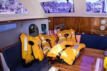 Annual check of lifejackets