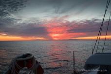 Sunrise over Bass Strait
