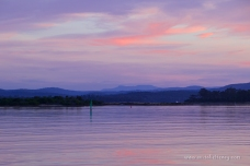 Christmas Eve sunset at the entrance of Port Sorell Estuary