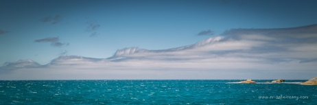 Odd clouds - still blowing at over 30 knots