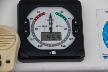 Slowing down from 60 knots!