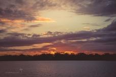 Beautiful skies at sunset