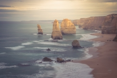 Iconic Twelve Apostles - there are now only eight.