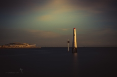 Old Port Melbourne Lighthouse Long Exposure