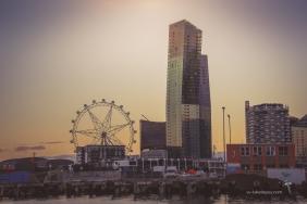 Melbourne Star and Docklands