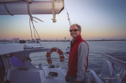 Captain Wadie - leaving Port Phillip Bay!