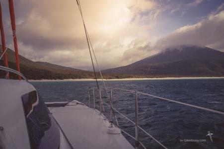 Anchored at Waterloo Bay