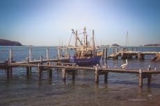 Fishing boat at Batemans Bay