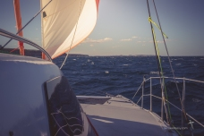 Sailing with a handkerchief
