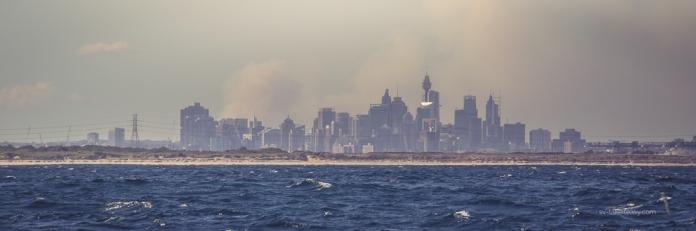 Sydney town skyline
