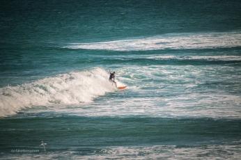 Surfing at Coffs