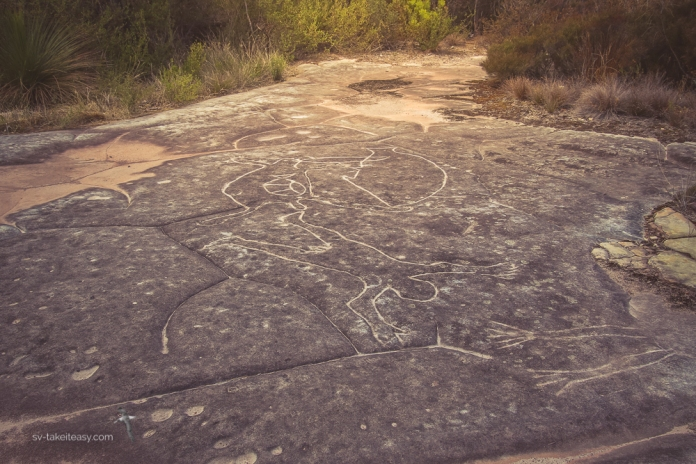Petroglyphs of every day life