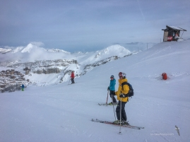 Brilliant start at Avoriaz, The morning was sunny, and we had fresh snow!
