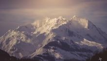 Pic du Midi d'Arrens in winter