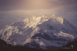 Pic du Midi d'Arrens in winter
