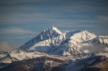 Pic du Midi de Bigorre in winter