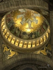 Dome inside the basilique