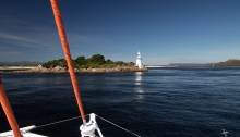 Macquarie Harbour arrival