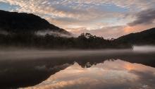 Sunset on the Gordon River
