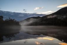 Gordon River in the mist