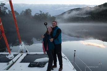 Greg and Ann taking a selfie