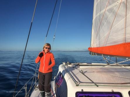 Leaving Flinders Island