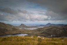 Port Davey from the hills