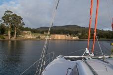 Port Arthur from the sea