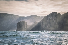 Dolorite cliffs