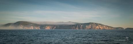 Freycinet coast in mist