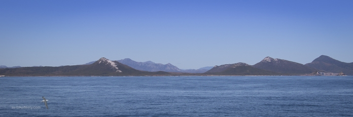 Approaching Port Davey