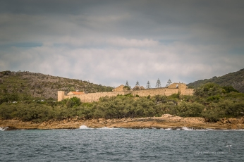 Trial Bay and its convicts building