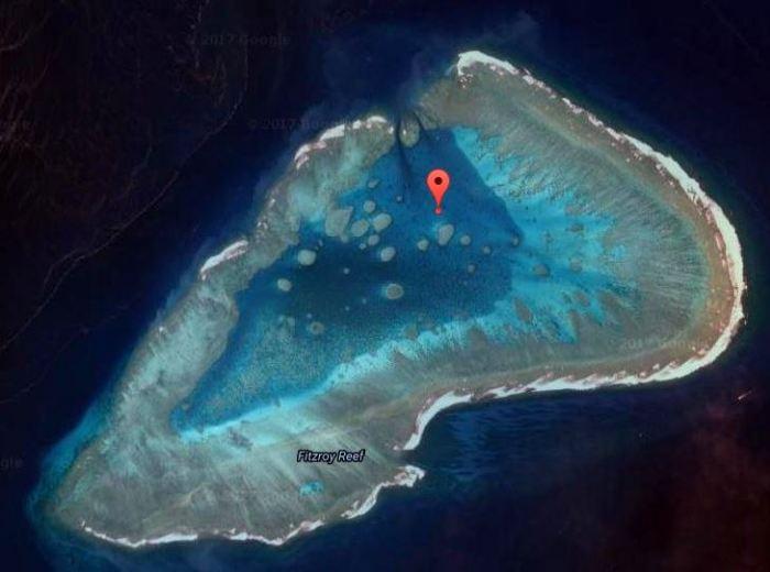 Fitzroy Reef Aerial