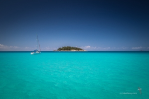 Esk Island from Whitehaven Beach