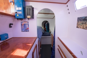 View through to Starboard Stateroom