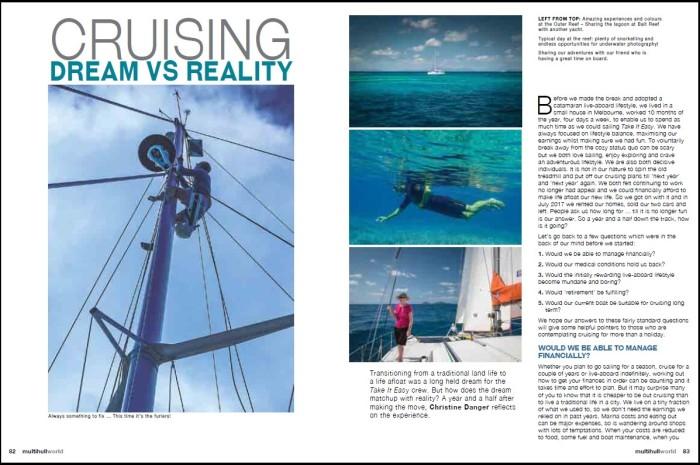 Title Cruising Dream Vs Reality