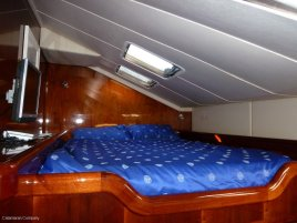 Starboard bedroom - for the guests!