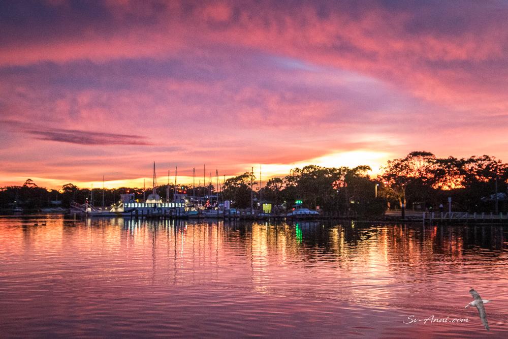 Sunrise at Raymond Island