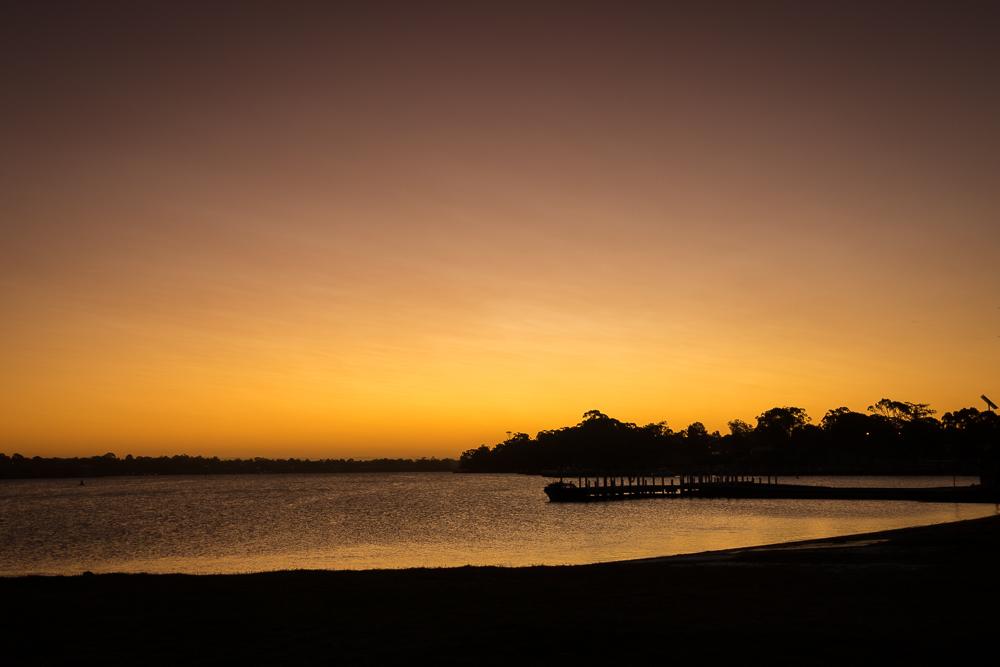 Sunset at Paynesville
