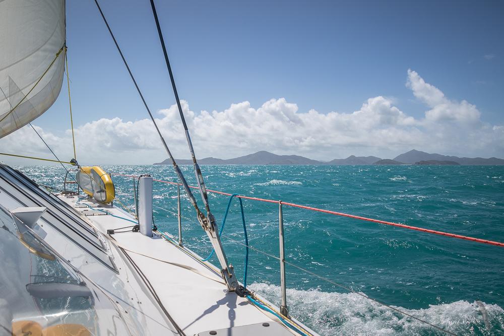 Approaching Shaw Island