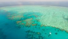 Lodestone Reef aerial