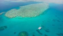 Stanley Reef aerial